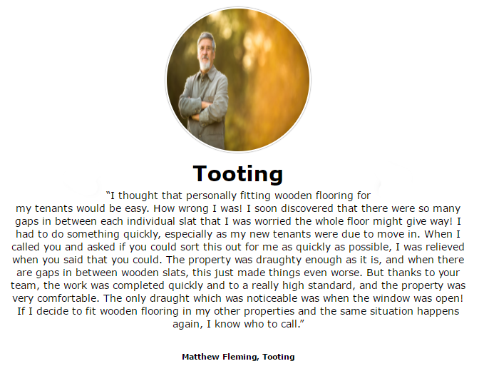Floor Sanding & Finishing services by ( from) professionalists in Floor Sanding Tooting